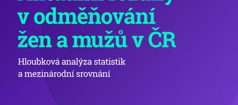 Aktuální rozdíly v odměňování žen a mužů v ČR