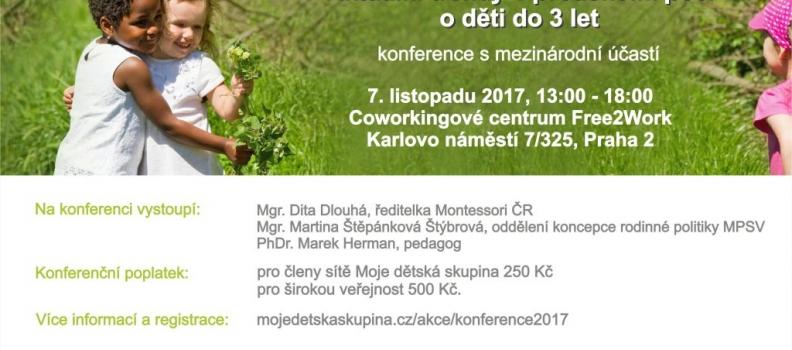 Konference: Aktuální trendy v předškolní péči o děti do 3 let